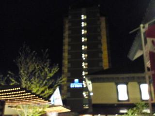 昨日のホテル