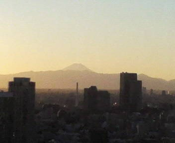 きょうの富士山 08/12/26