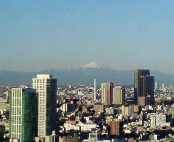 きょうの富士山 09/01/15