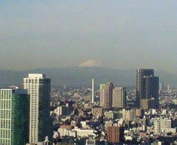 きょうの富士山 09/01/26