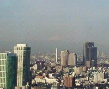 きょうの富士山 09/01/27