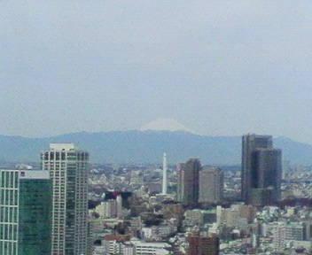 きょうの富士山 09/03/11