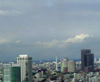 きょうの富士山 09/08/26