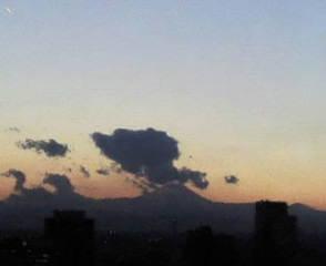 きょうの富士山 09/12/28