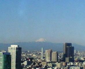 きょうの富士山 10/01/06