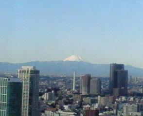 きょうの富士山 10/01/07