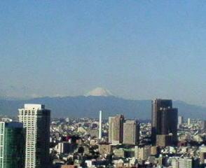 きょうの富士山 10/01/22