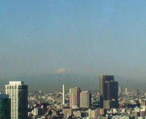 きょうの富士山 10/01/27