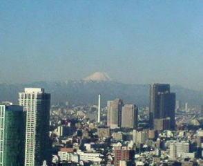 きょうの富士山 10/02/05