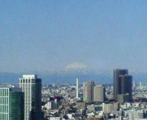 きょうの富士山 10/03/30