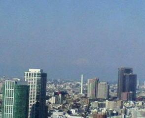 きょうの富士山 10/04/08
