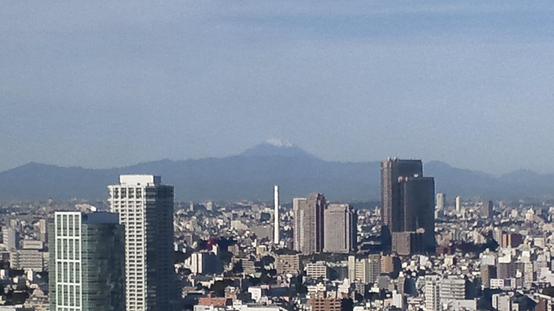 きょうの富士山 101102