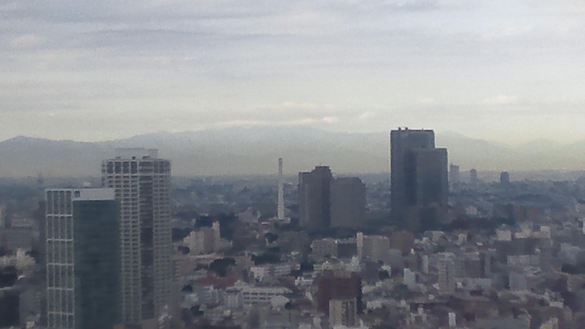 きょうの富士山 101104