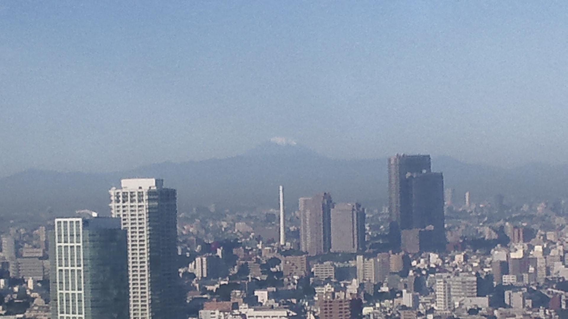 きょうの富士山 101105