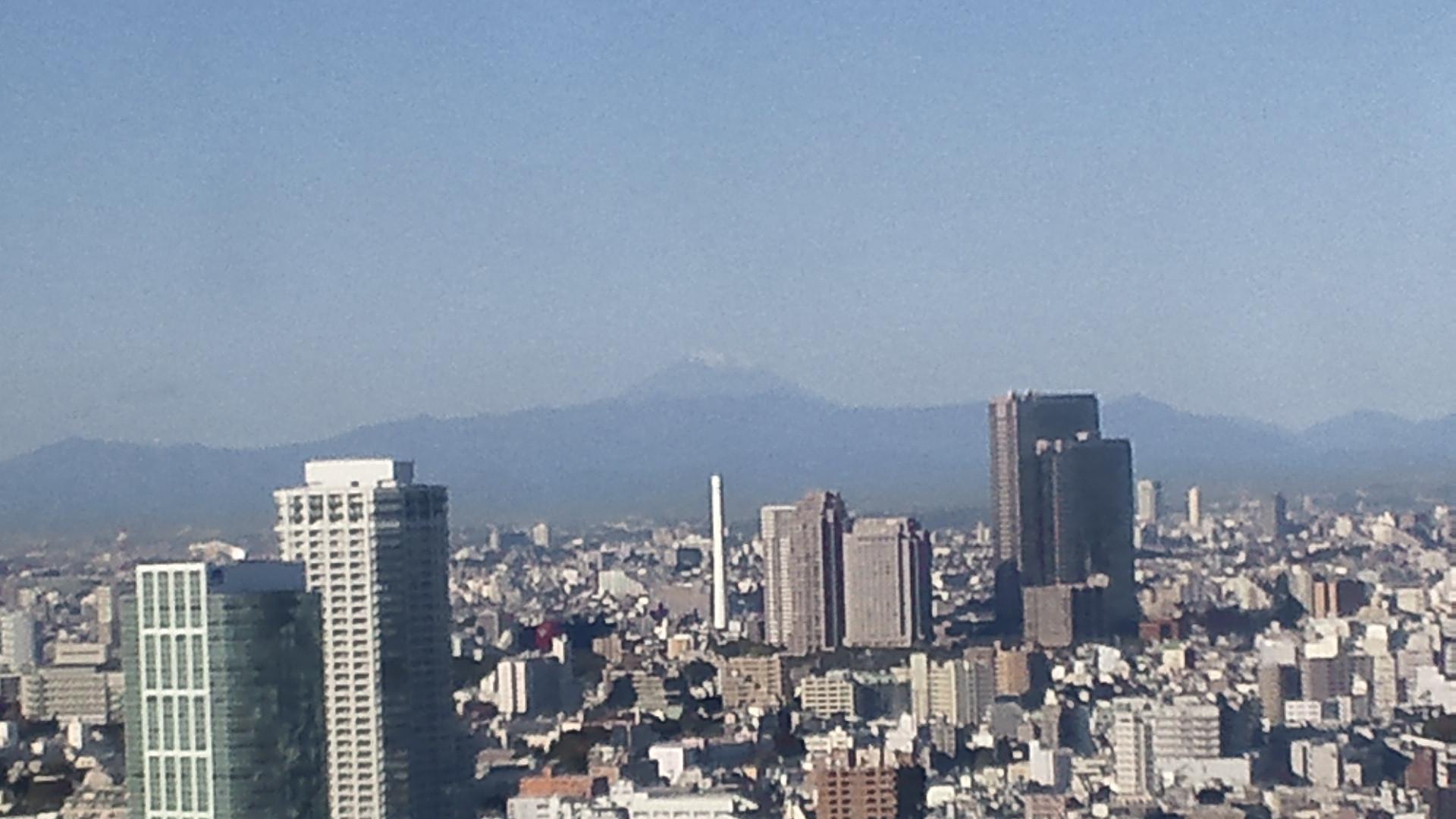 きょうの富士山 101111