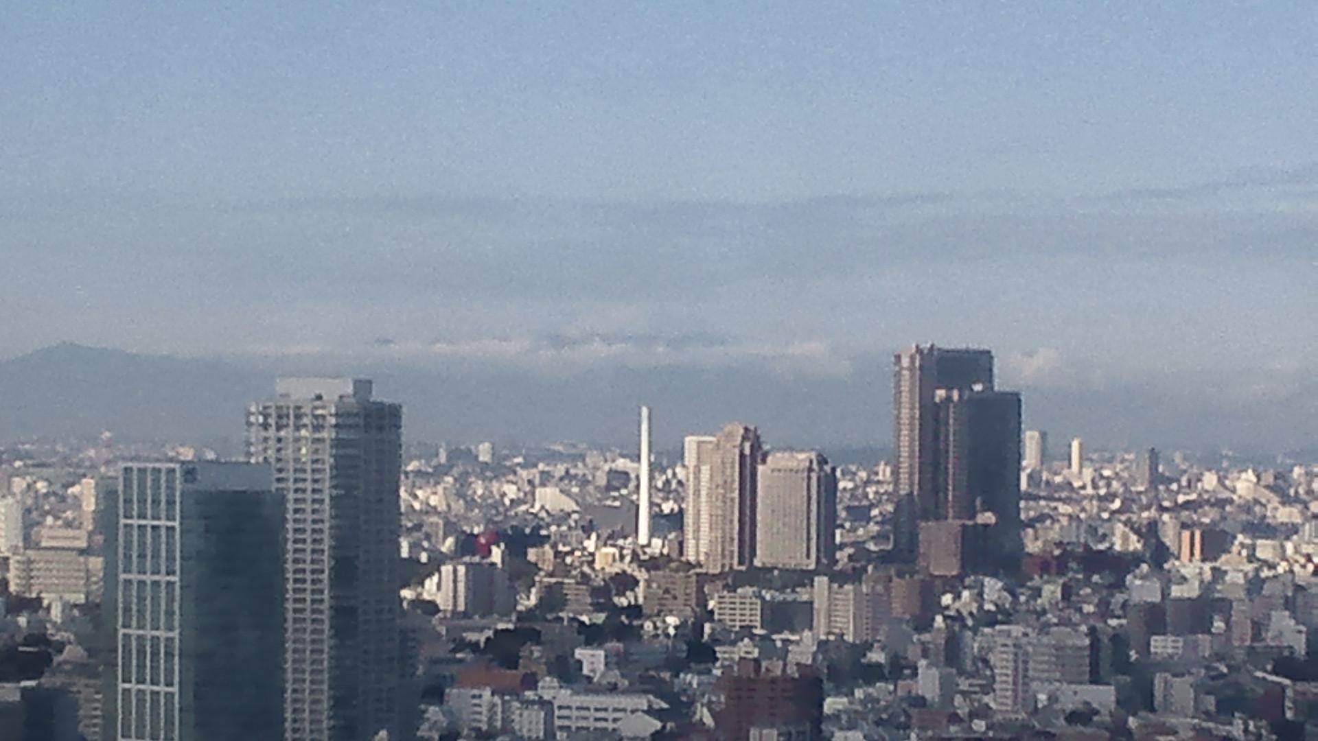 きょうの富士山 101116