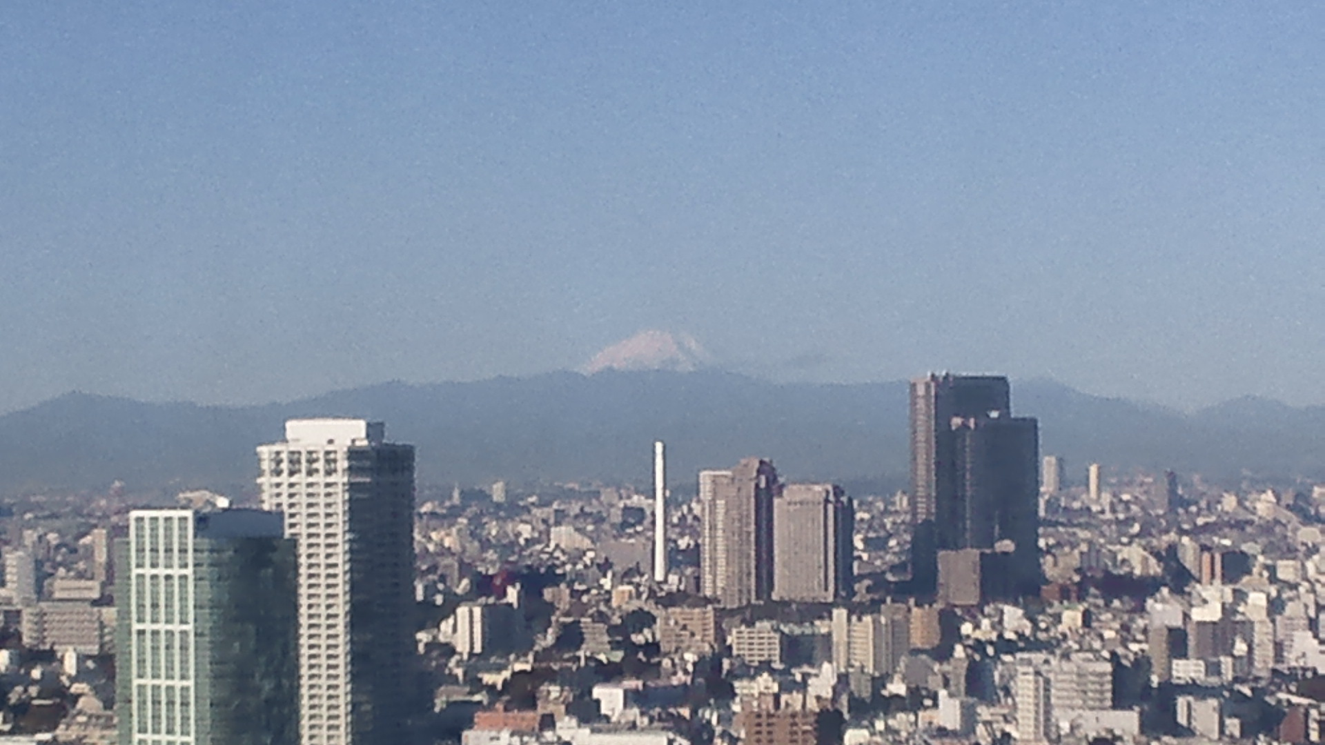 きょうの富士山 101119
