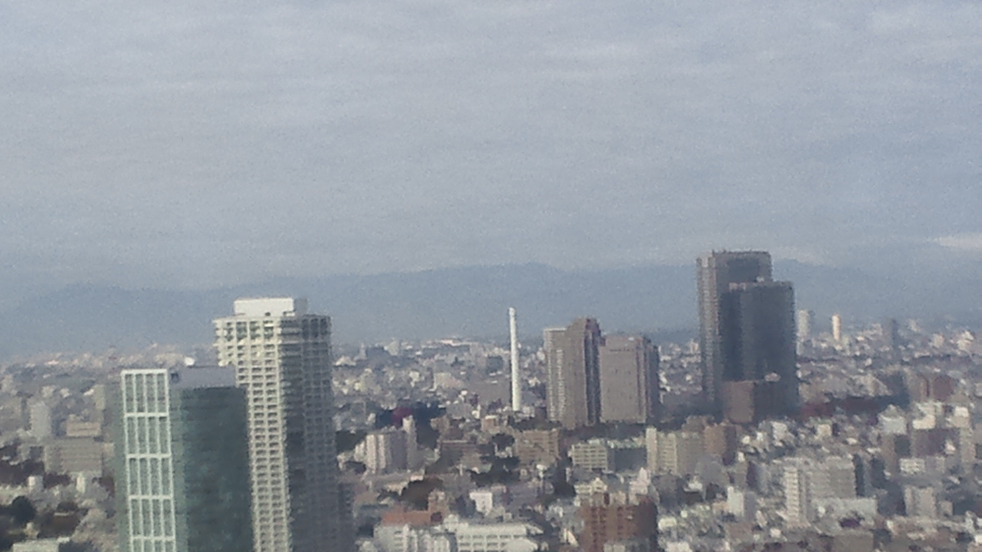 きょうの富士山 101124