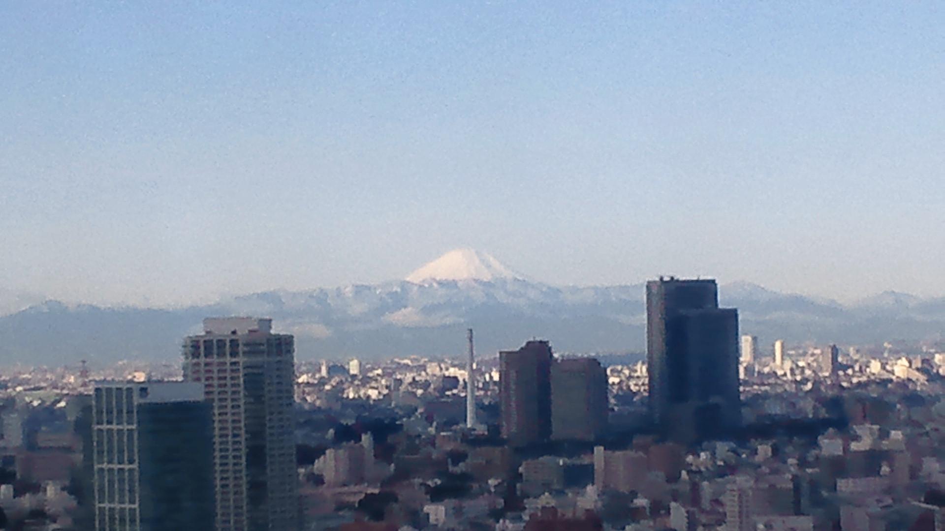 きょうの富士山 101208
