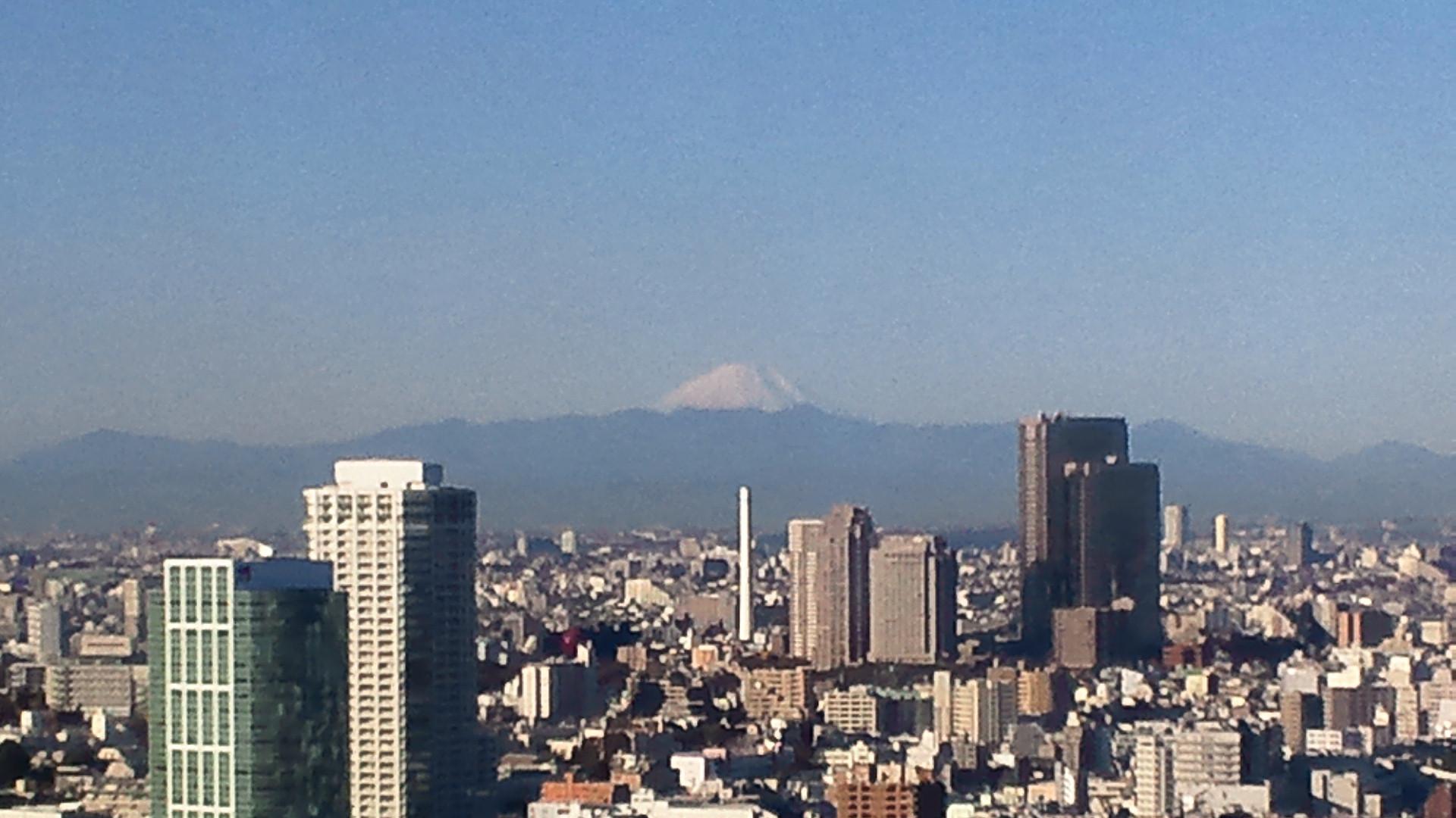 きょうの富士山 101215