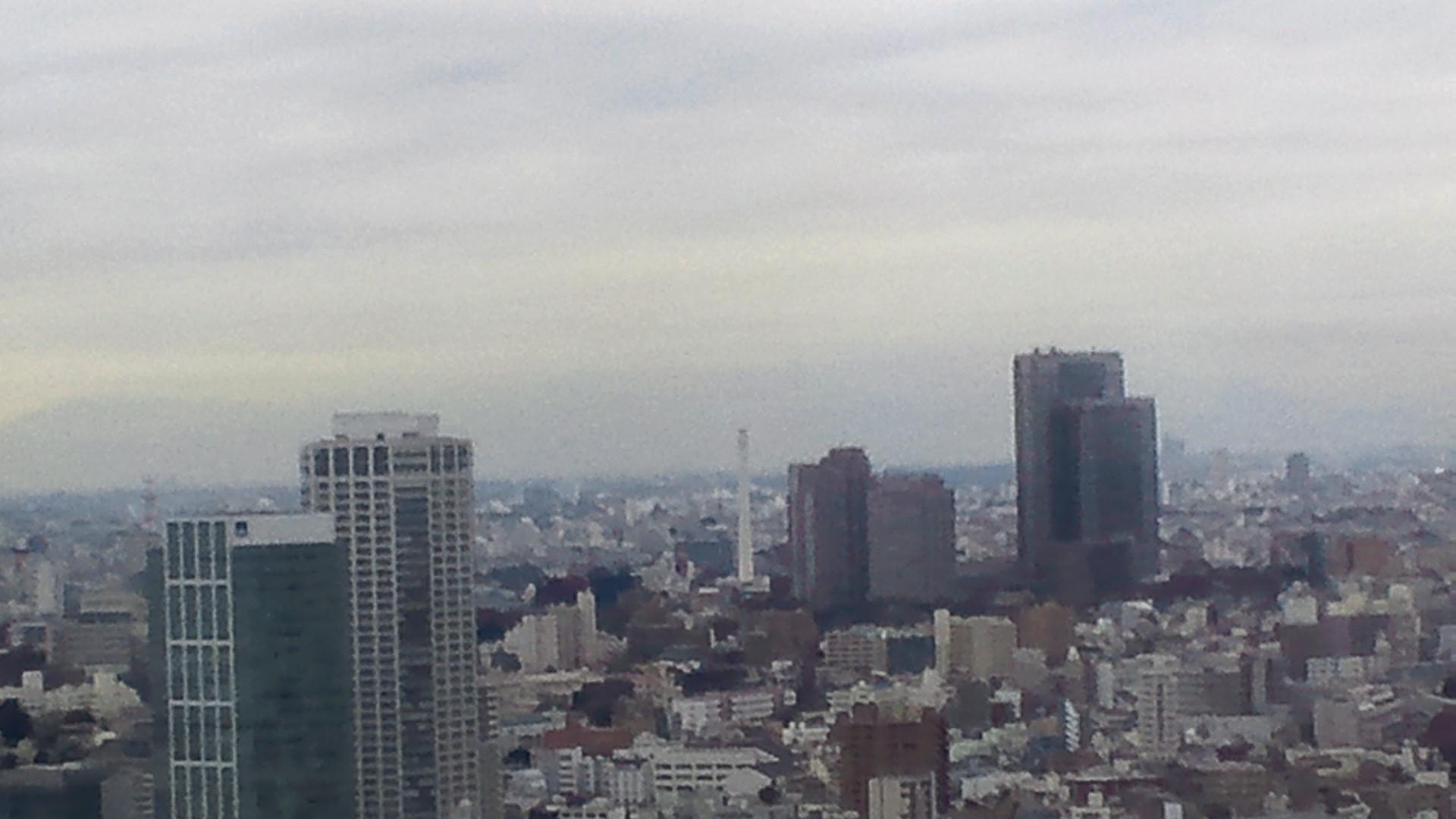 きょうの富士山 101216