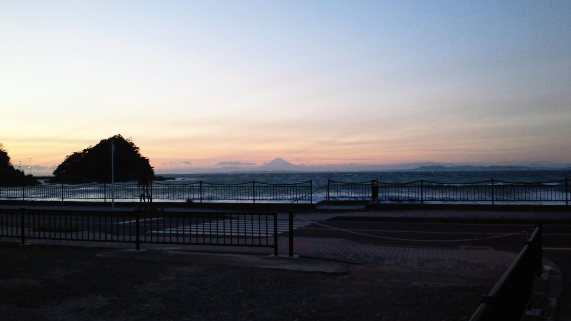 きょうの富士山 101225