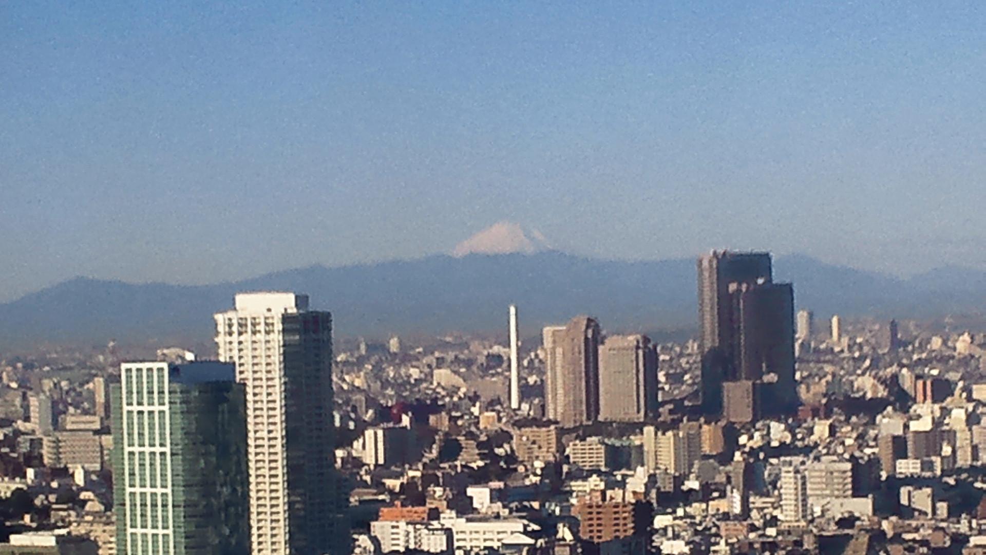 きょうの富士山 101227