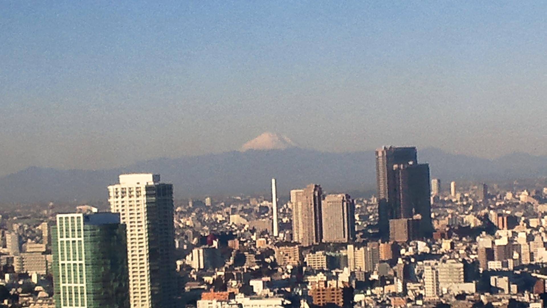 きょうの富士山 101228
