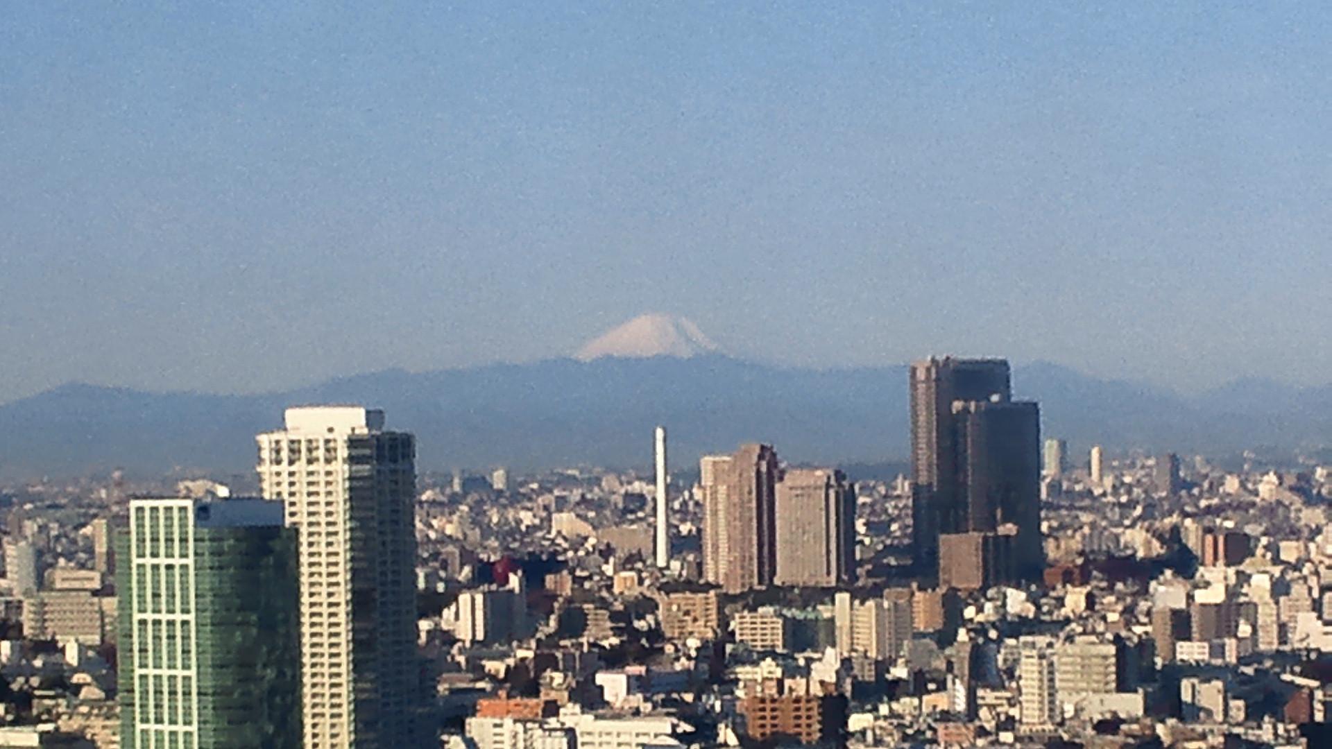 きょうの富士山 110104