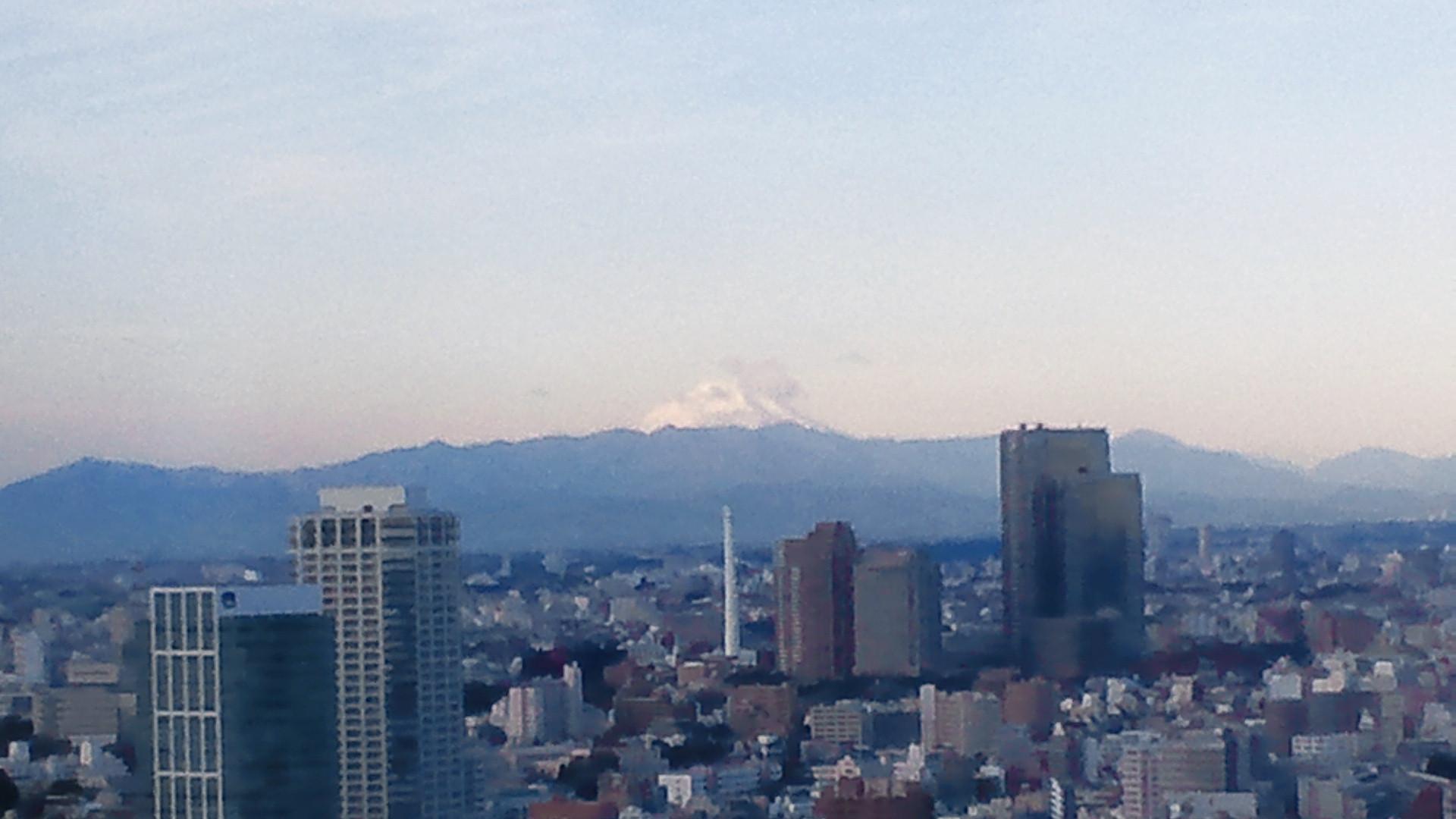 きょうの富士山 110106