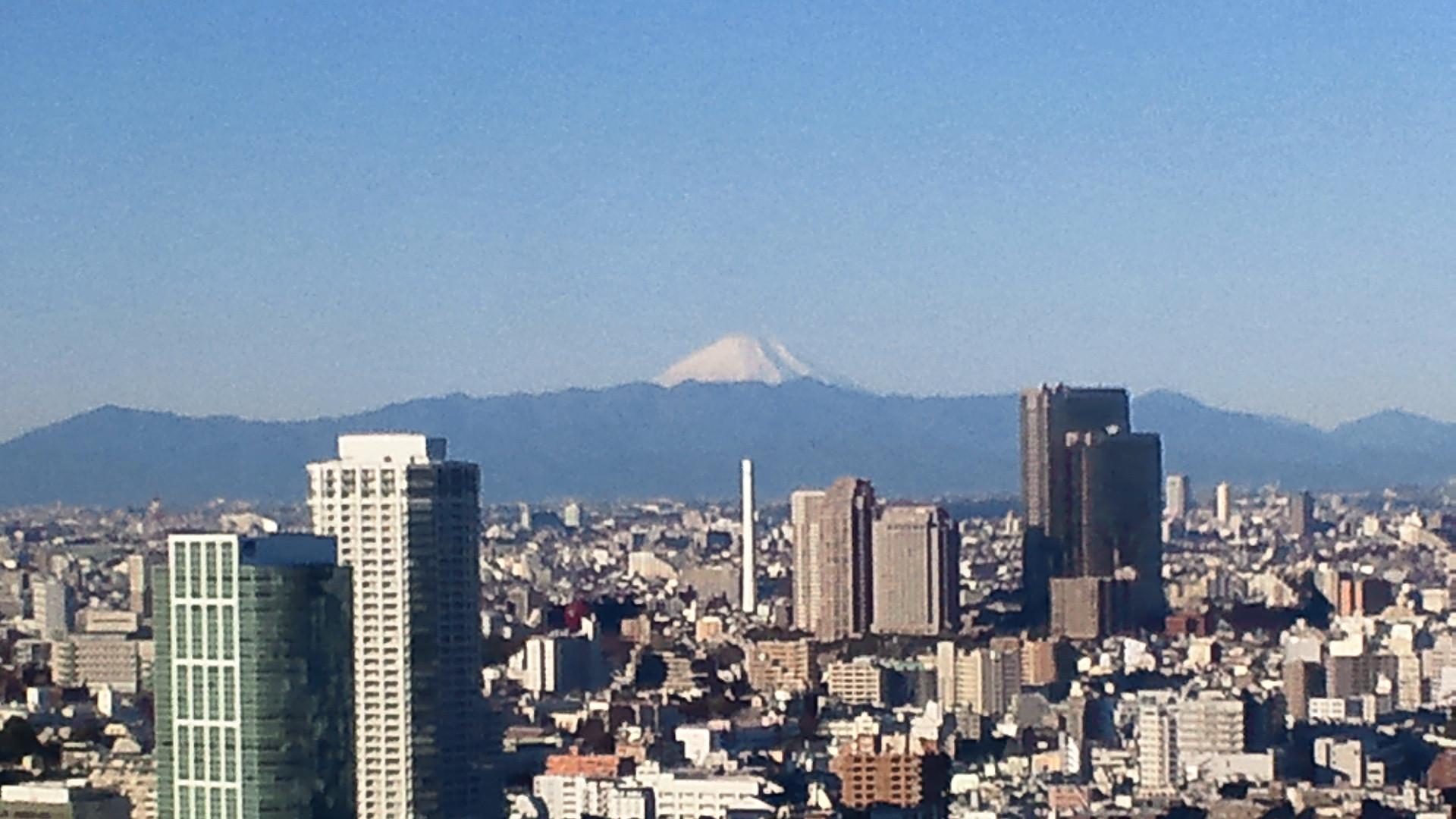 きょうの富士山 110107