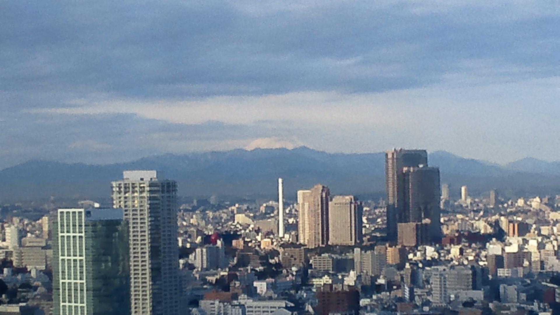 きょうの富士山 110111