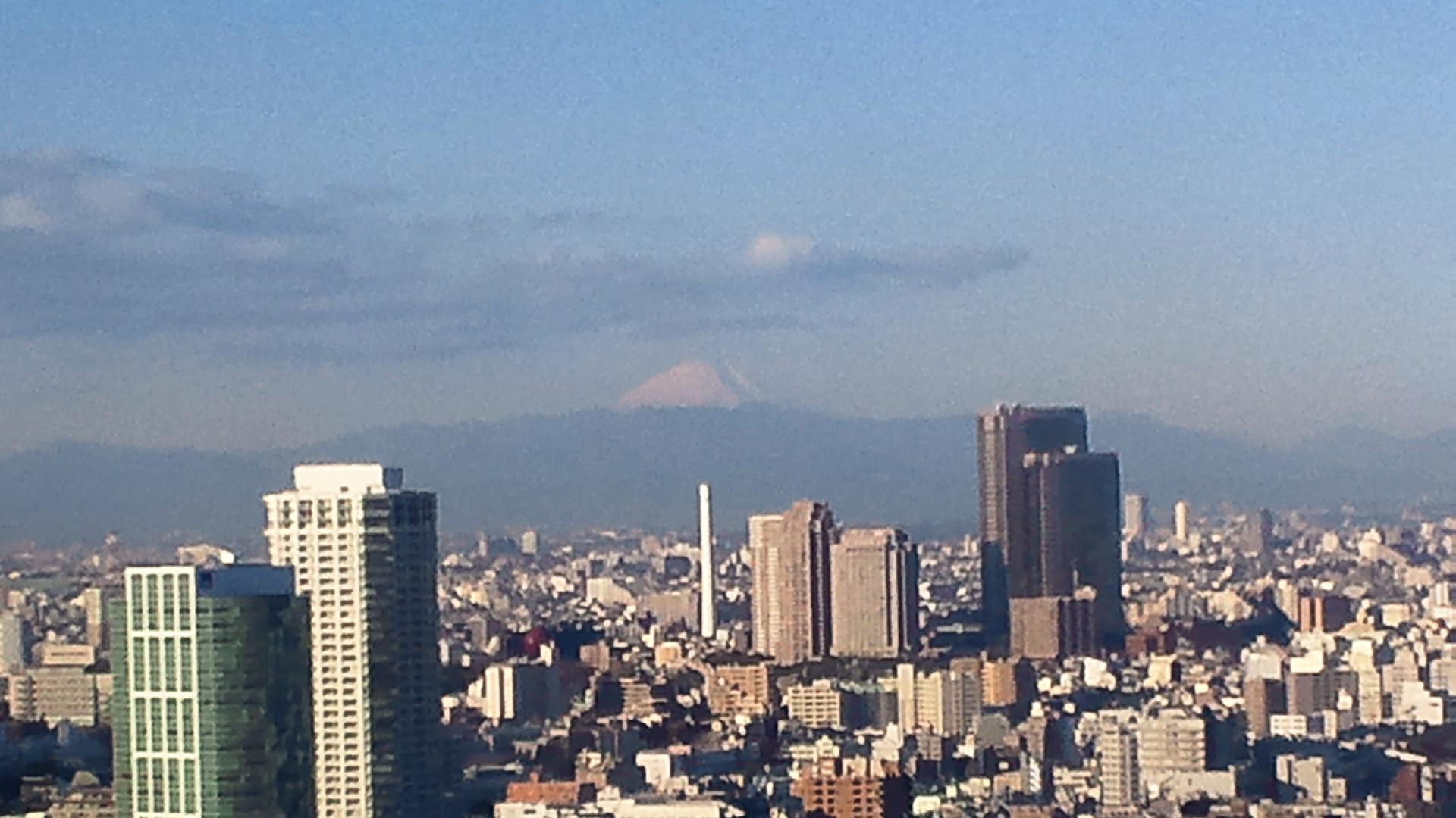 きょうの富士山 110113