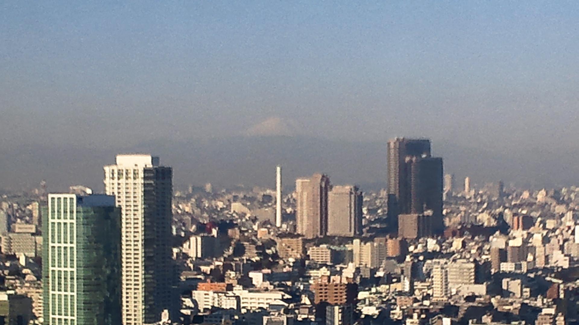 きょうの富士山 110114