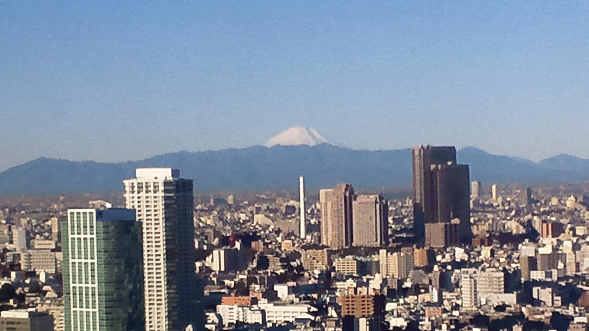 きょうの富士山 110118