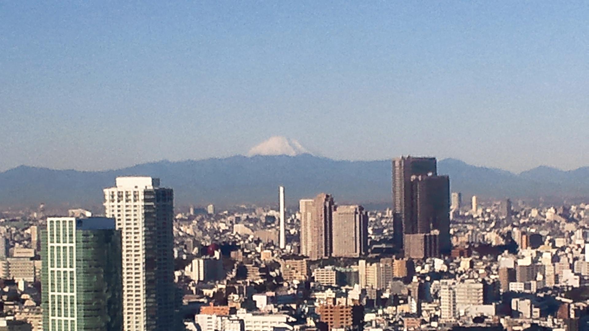 きょうの富士山 110120