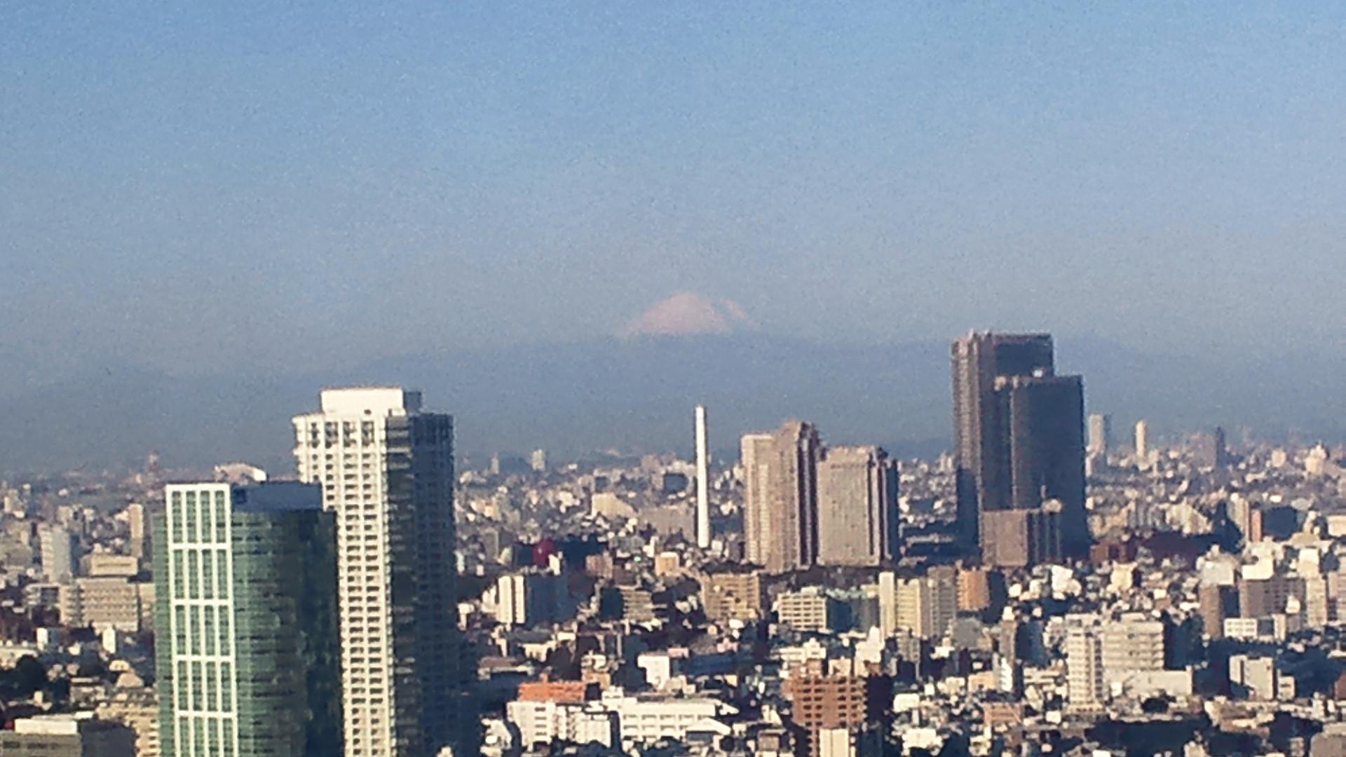 きょうの富士山 110125
