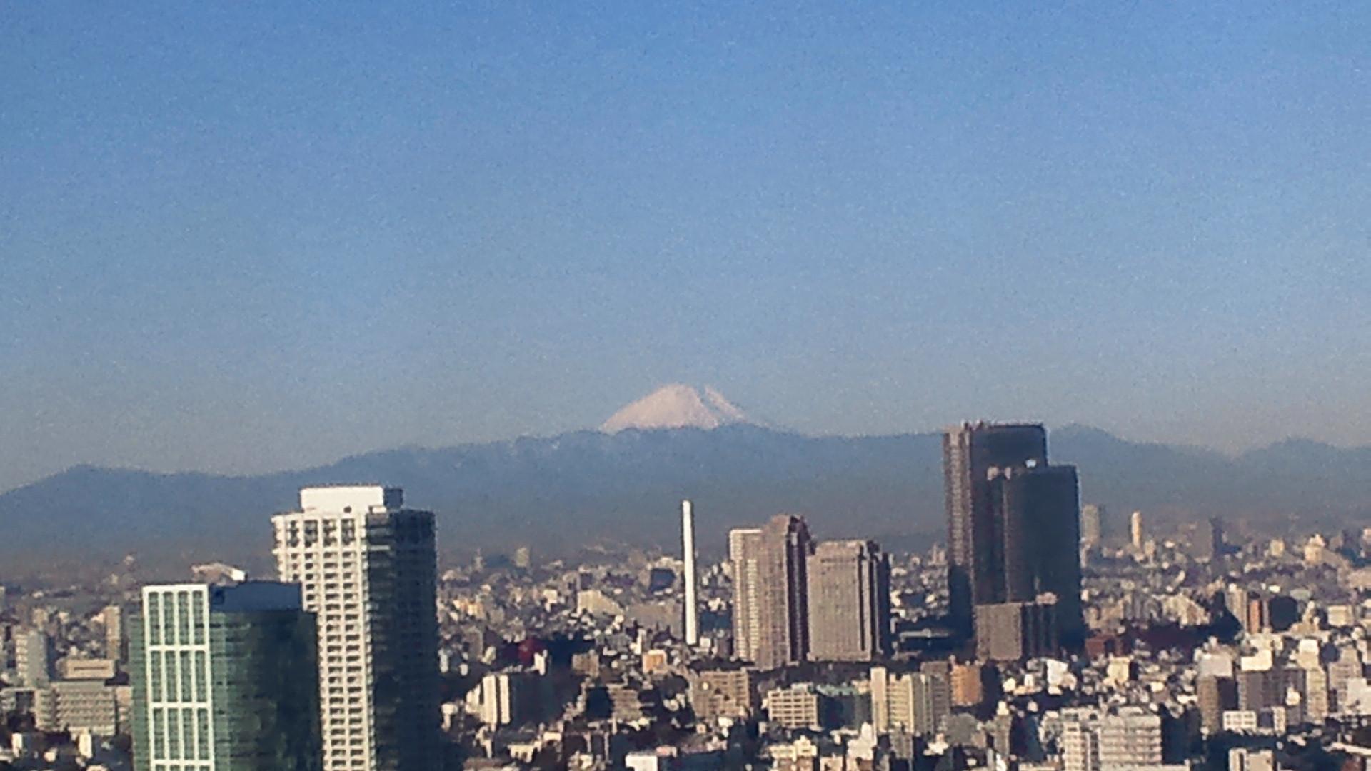 きょうの富士山 110127
