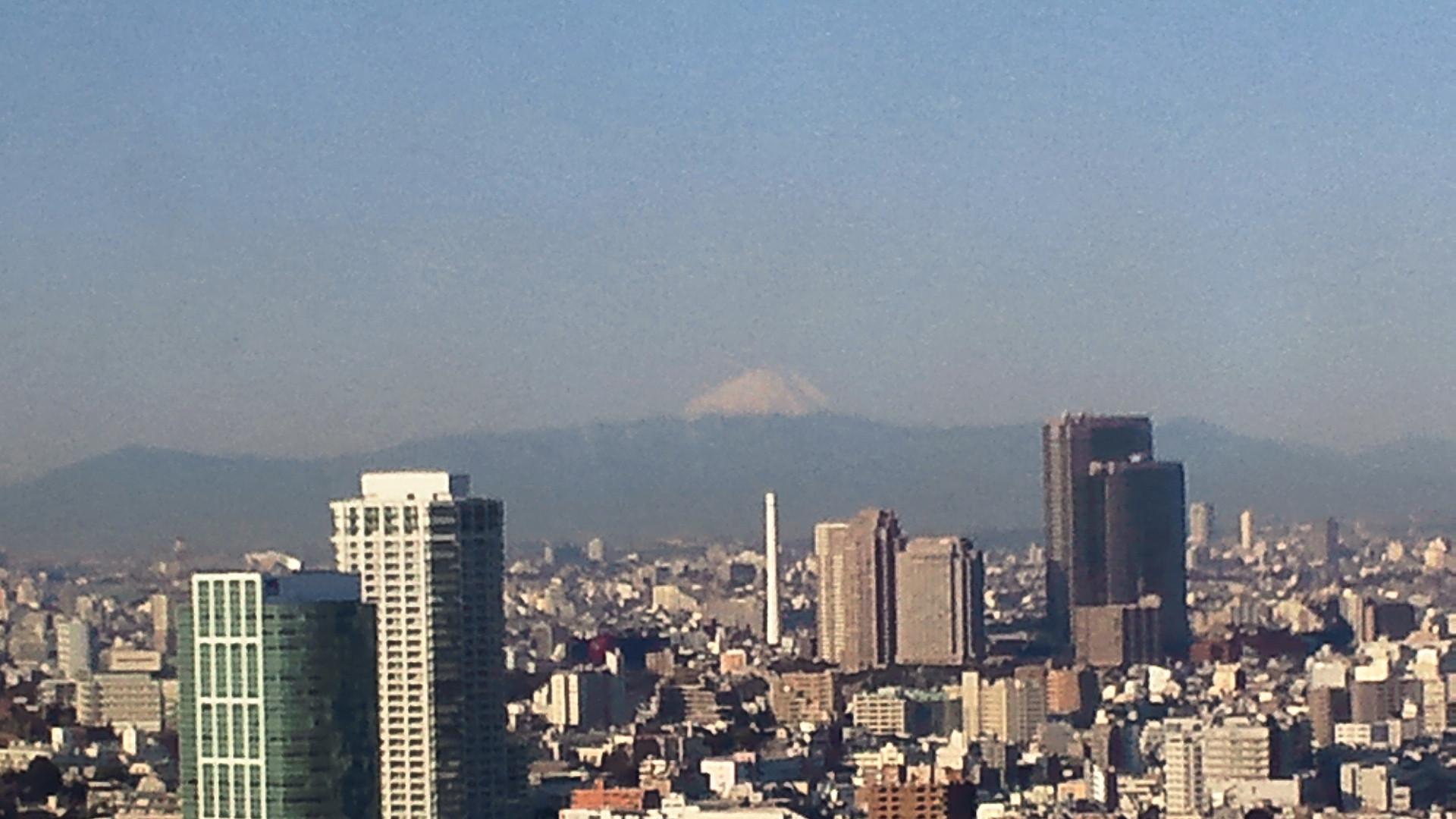 きょうの富士山 110128