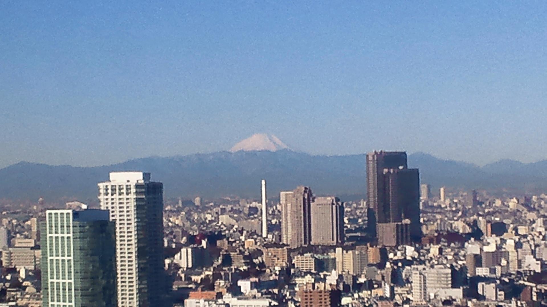 きょうの富士山 110131