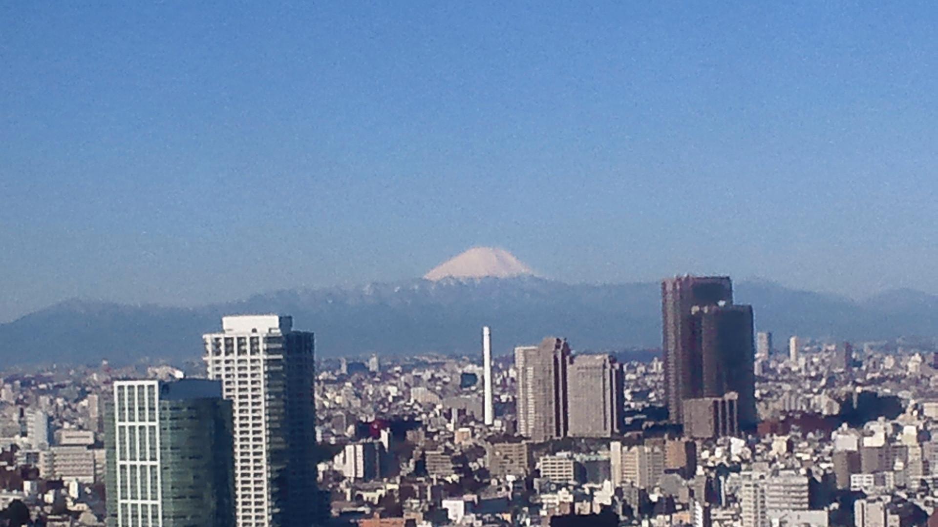 きょうの富士山 110304