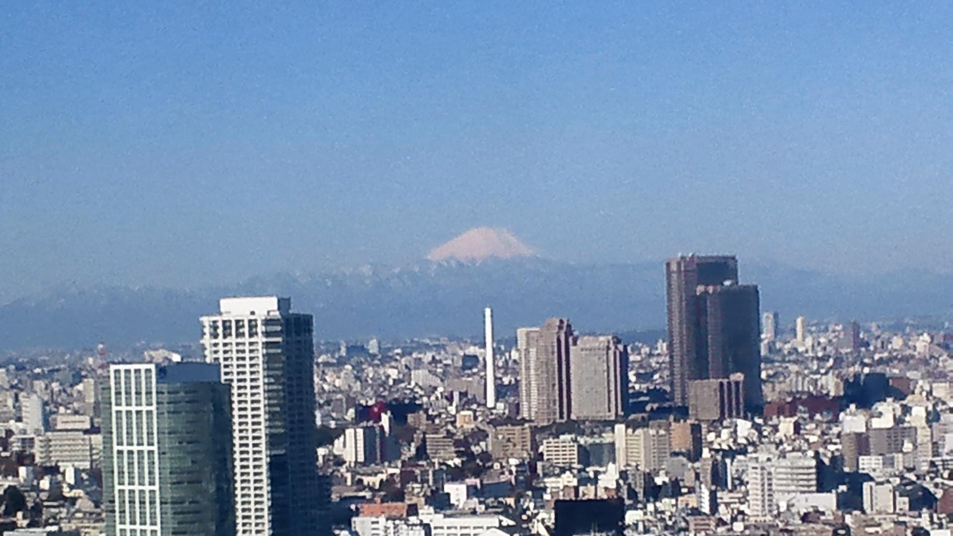きょうの富士山 110310