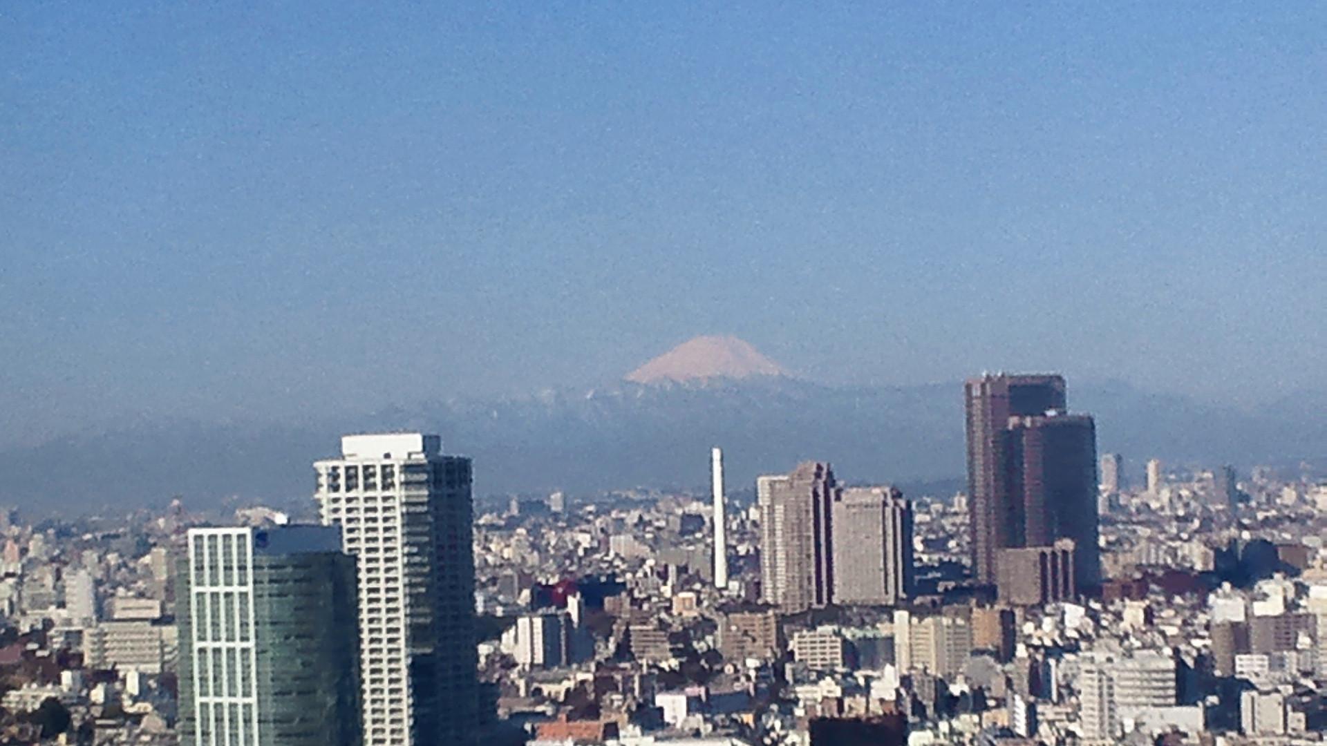 きょうの富士山 110311