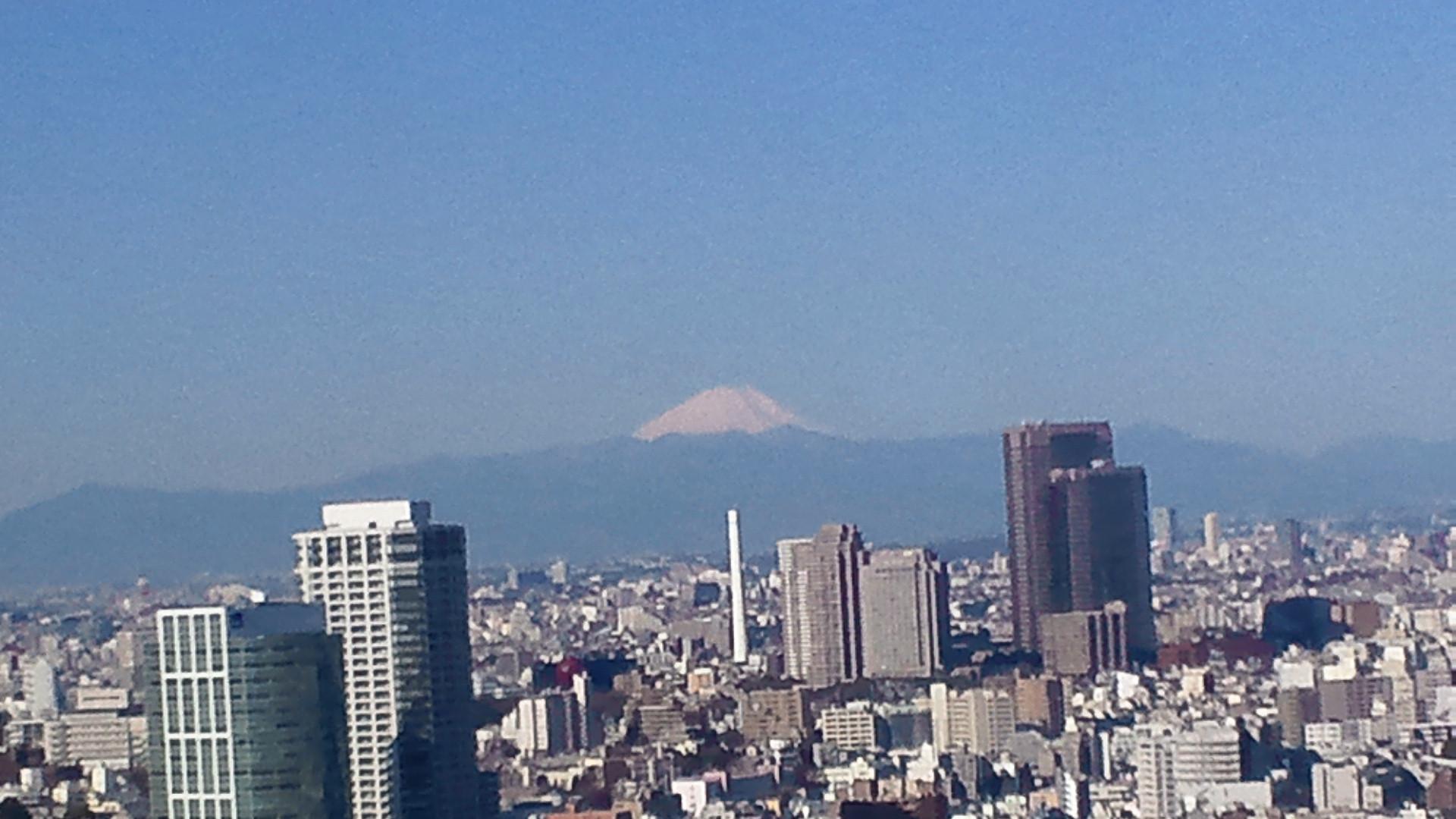 きょうの富士山 110318