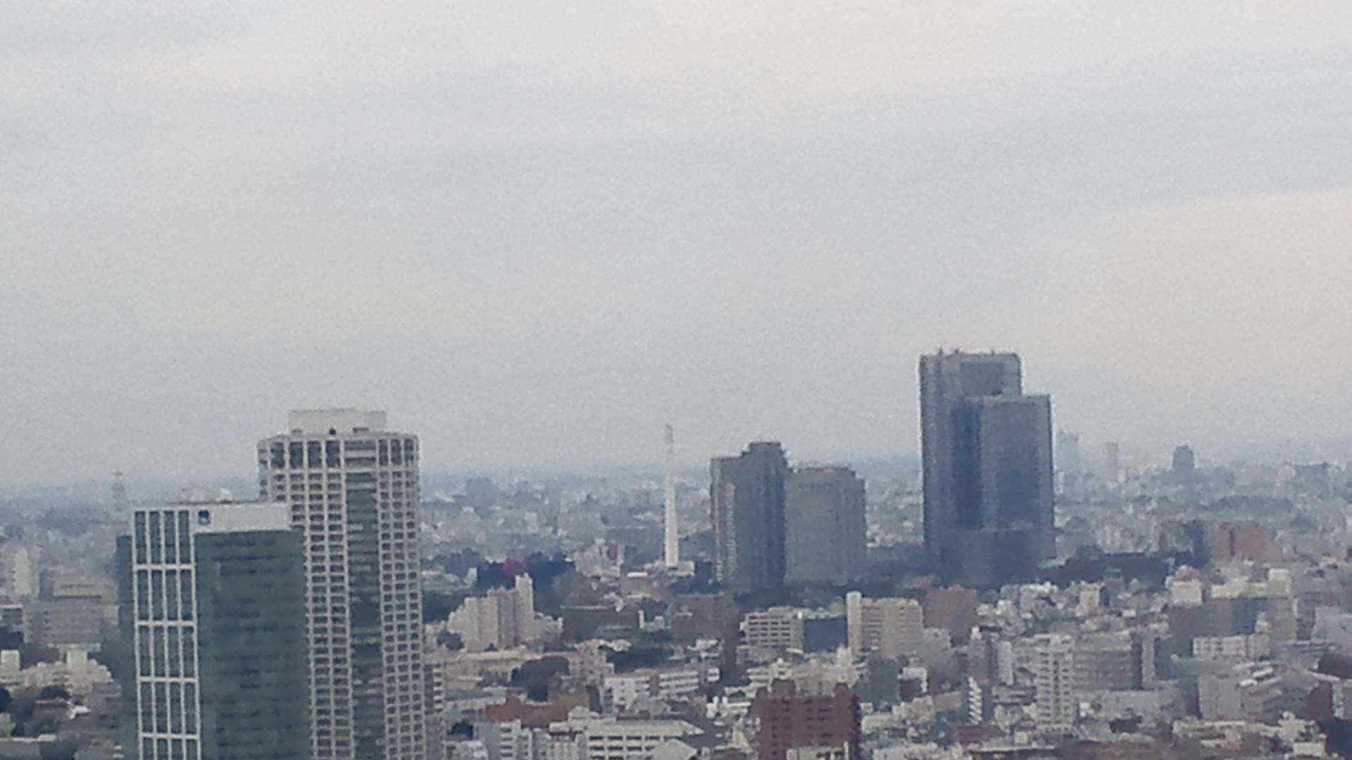 きょうの富士山 110324