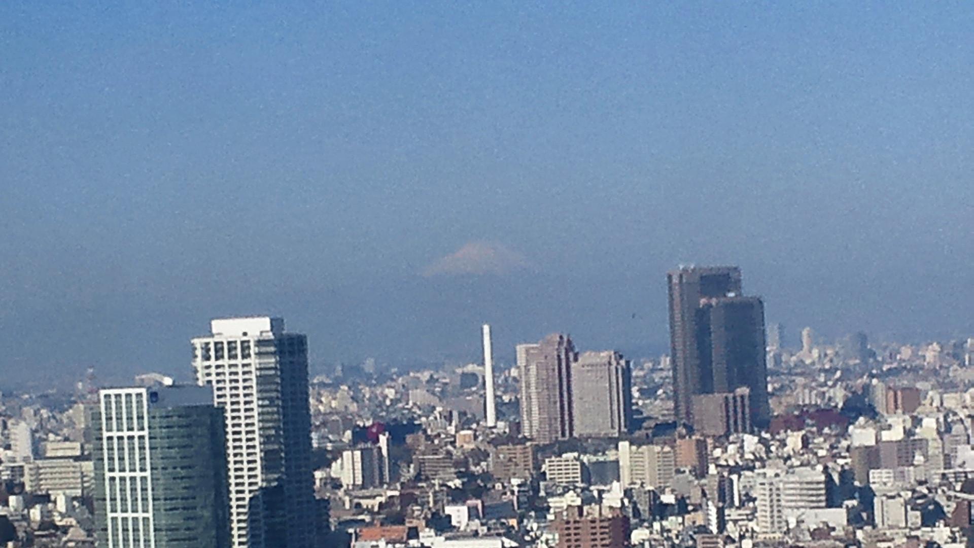 きょうの富士山 110401