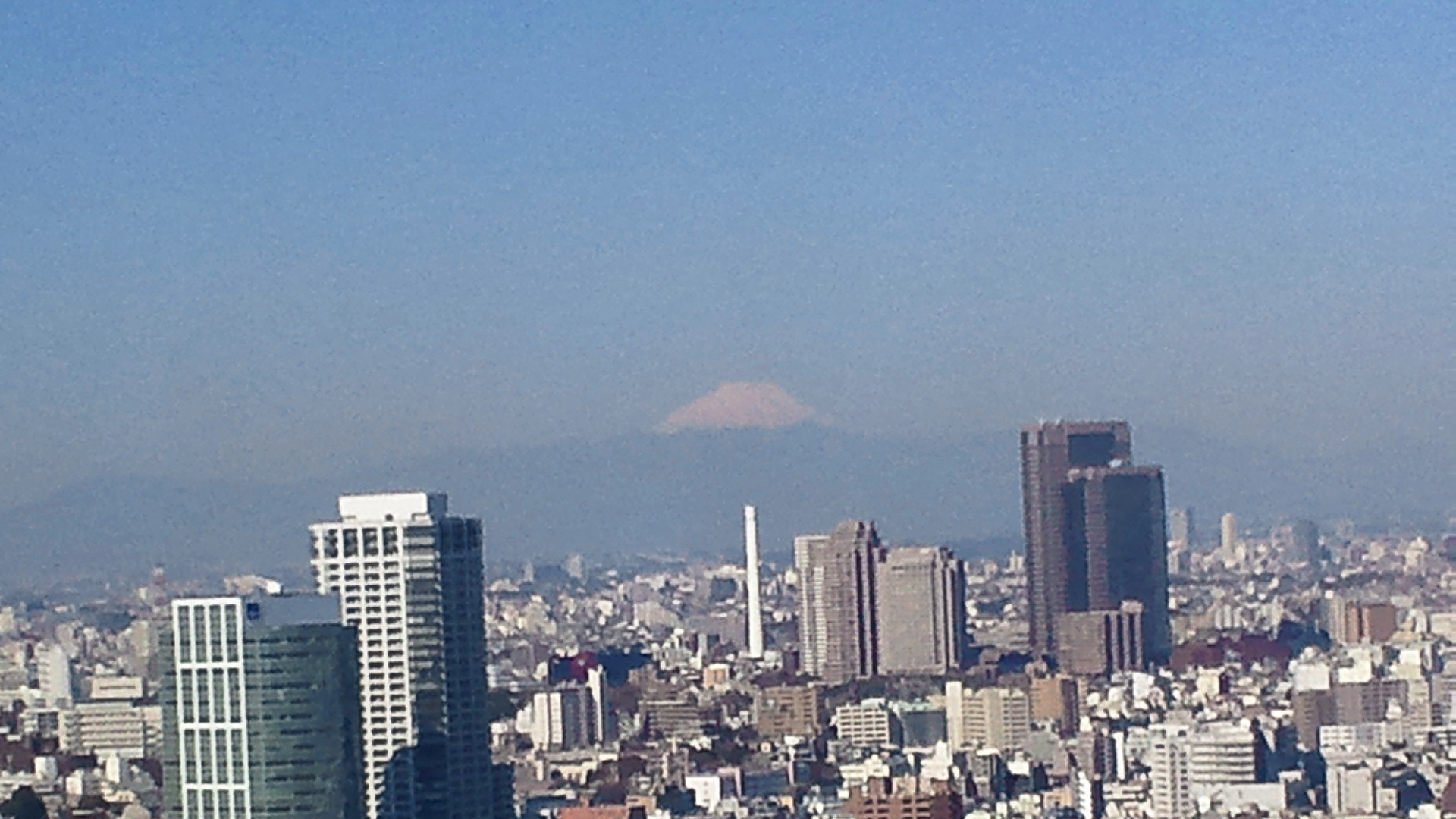きょうの富士山 110405