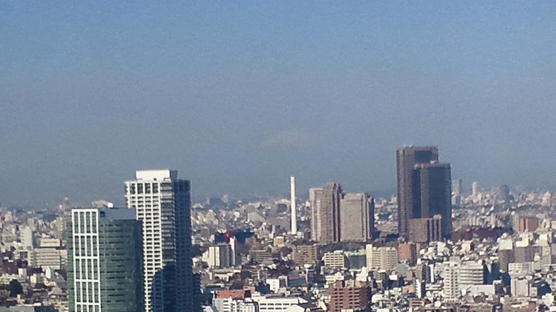 きょうの富士山 110406