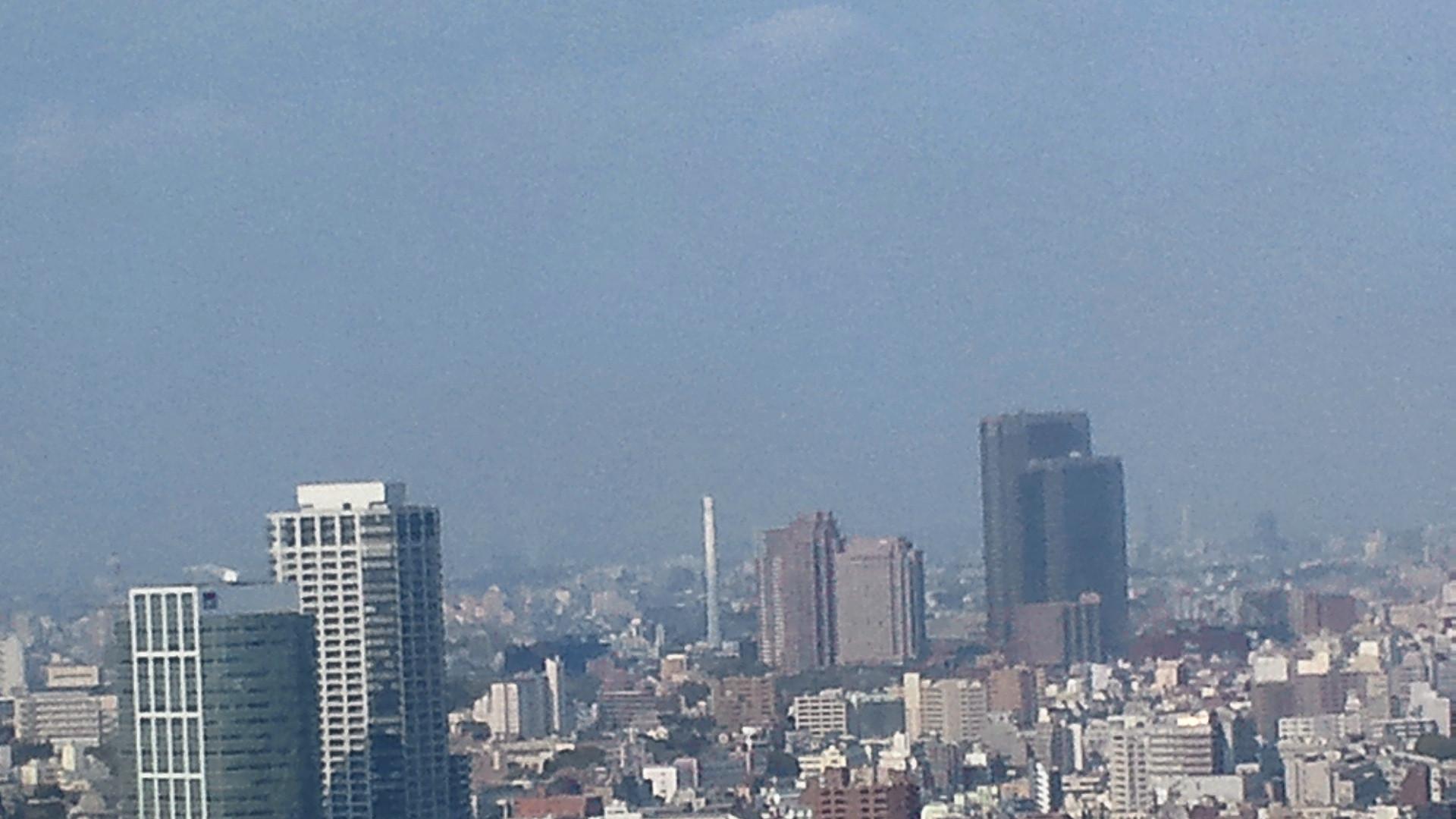 きょうの富士山 110415