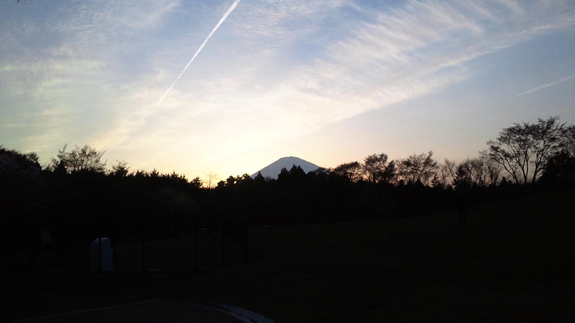 きょうの富士山 110416